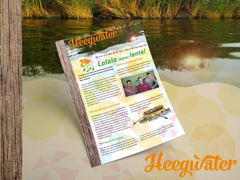 Heegwater 1: Lalala (bijna) Lente!