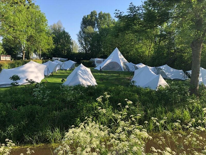 Duurzame Tentenkamp